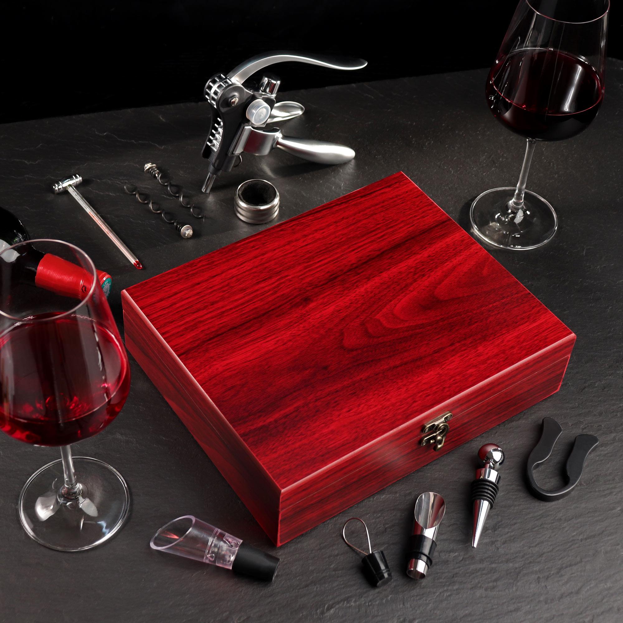 Wein-Sommelier-Set - 30. Geburtstag - Personalisiert