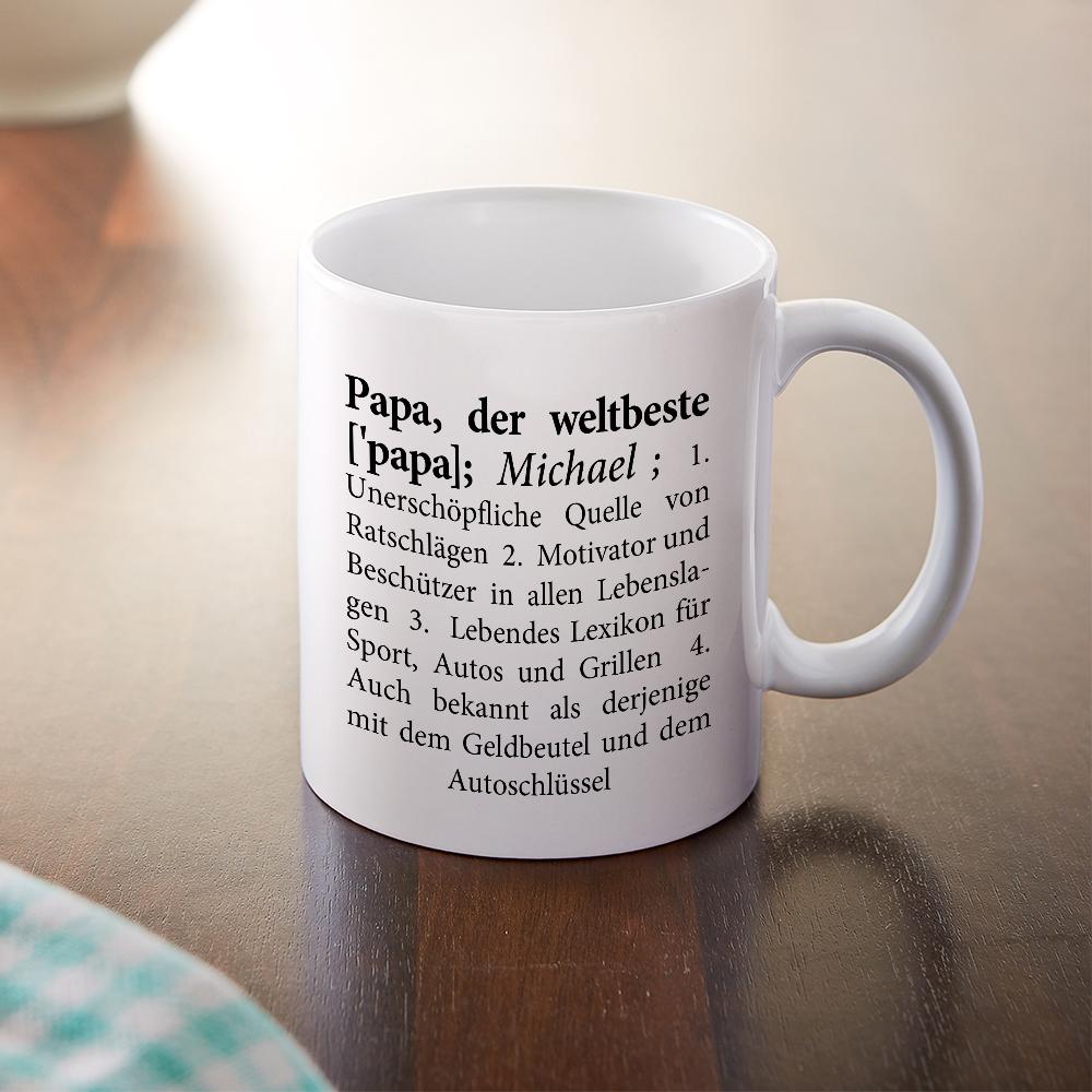 Tasse aus Keramik für den Weltbesten Papa