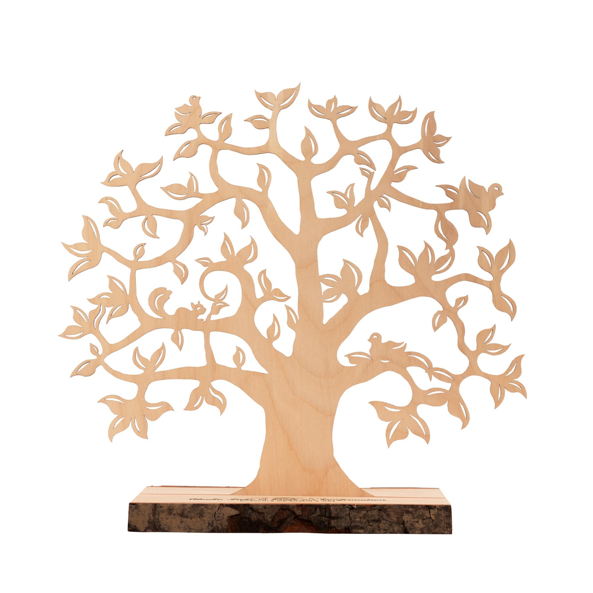 Geldbaum mit Gravur zur Konfirmation - Personalisiert - Klein